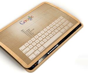 Ecopad Android-tablet concept heeft nooit een lege accu