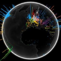 Google Search Globe: bekijk wereldwijde zoekacties op een wereldbol