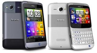 Officiële firmware HTC Salsa en HTC ChaCha uitgelekt