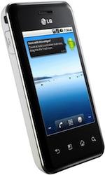 iBood: LG Optimus Chic E720 voor €139,95