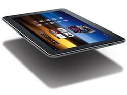 Samsung Galaxy Tab 10.1 wordt geleverd met Android 3.1