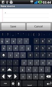 thumb keyboard smartphone