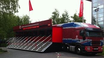vodafone truck