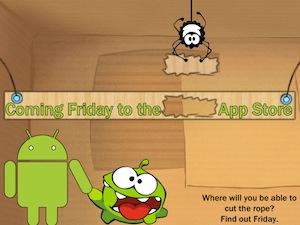 Gerucht: Cut The Rope komt vrijdag op Android