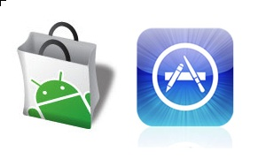 Android Market_Apple App Store