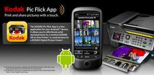 Kodak brengt Pic Flick app voor Android uit