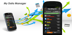 My Data Manager: dataverbruik op app-niveau