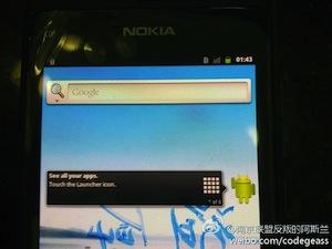 Gespot: Nokia N9 met Android