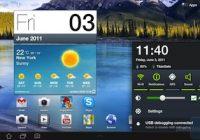 Filmpje toont nieuwe Samsung Touchwiz-interface voor Honeycomb