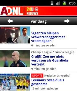 AD.nl brengt Android-nieuwsapplicatie uit
