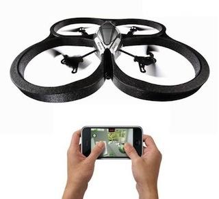 Binnenkort officiële Android-app voor Parrot AR.Drone beschikbaar