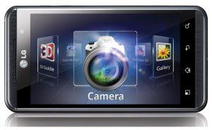 LG Optimus 3D Speed camera