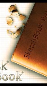 Opstartscherm SketchBook Pro