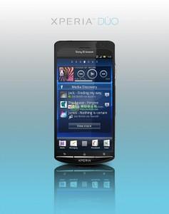 Gelekte persfoto Sony Ericsson Xperia Duo