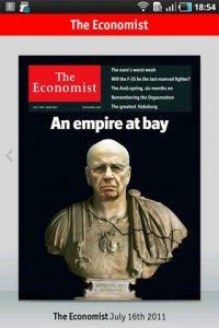 The Economist van 16 juli 2011