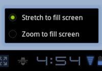 Nieuwe zoommodus voor apps in Android 3.2