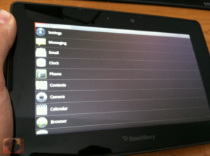 Android app-player op de BlackBerry PlayBook