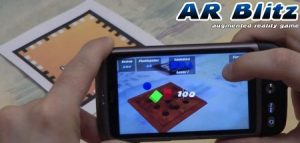AR Blitz: Augmented reality game met een a4'tje