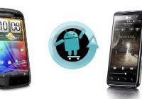 CyanogenMod nu ook beschikbaar voor HTC Sensation en LG Optimus 3D