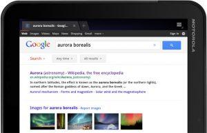 Google verbetert haar zoekpagina voor tablets