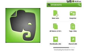 Evernote voor Android nu met verbeterde tekstwerking, nieuwe widget en tabletondersteuning