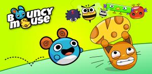 Bouncy Mouse: combinatie van Cut the Rope en Angry Birds