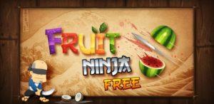 Nu ook gratis versie van Fruit Ninja in Android Market