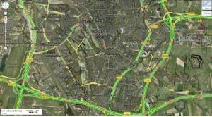 Actuele verkeersinformatie voor Google Maps nu ook in de Benelux