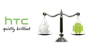 Aandelen HTC dalen flink vanwege rechtszaak Apple