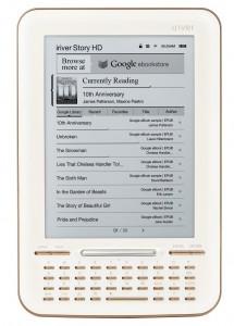 iRiver Story HD eerste eReader met Google eBooks