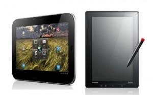Lenovo kondigt twee Android 3.1 tablets aan