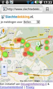 SlechteDekking.nl Android-app