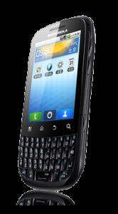 Motorola XT316 van rechts