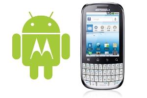 Motorola XT316: goedkope Android-smartphone met qwerty-toetsenbordje
