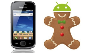 Gingerbread-update voor Samsung Galaxy Gio nu te downloaden