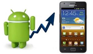 Samsung Galaxy S II al meer dan 5 miljoen keer verkocht