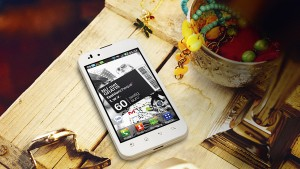 LG Optimus White Edition