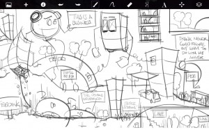 SketchBook Pro: professioneel tekenen op je Honeycomb-tablet