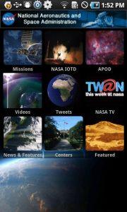 NASA App voor Android