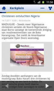 Reformatorisch Dagblad Kerkplein in Android-app