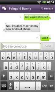 Viber tekstberichten