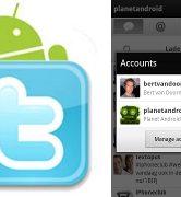 Twitter voor Android nu met push notificaties en ondersteuning voor meerdere accounts