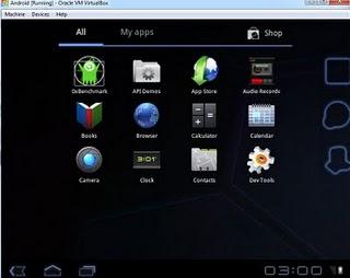 Android vanaf CD