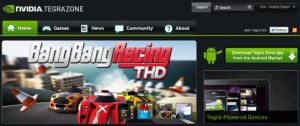 NVIDIA kondigt Tegra Zone voor games aan