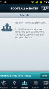 Vrienden uitnodigen