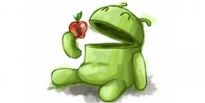Android heeft een wereldwijd marktaandeel van bijna vijftig procent