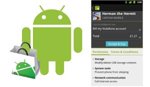 Vodafone introduceert afrekenen via de telefoonrekening voor Android