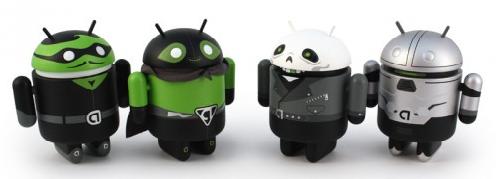 Android Mini Series Heroes and Villains nu te koop