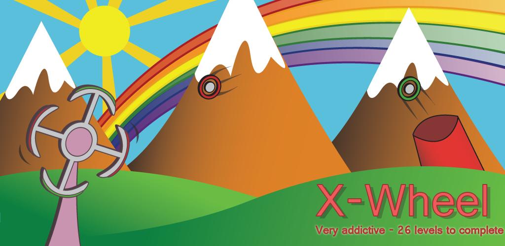 XWheel: gekleurde bollen vangen met een draaiwiel