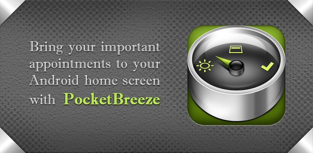 PocketBreeze plaatst je agenda op je homescreen